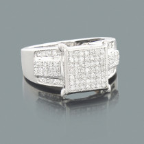 Engagement Rings for Cheap: Ladies Diamond Ring 0.40ct 10K
