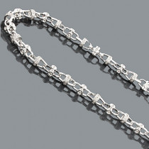 Hip Hop Diamond Chains: 14K Diamond Necklace 6.09