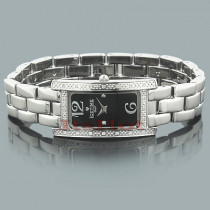 Ice Time Pearl Ladies Diamond Watch 0.20ct