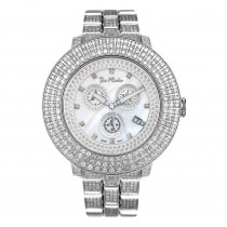 Oversized Iced Out Watches Joe Rodeo Pilot Mens Diamond Watch 11 carats