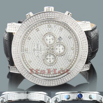 IceTime Crown Mens Diamond Watch 3 carats