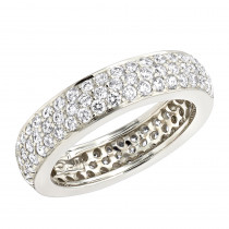 Diamond Platinum Eternity Band 1.75ct