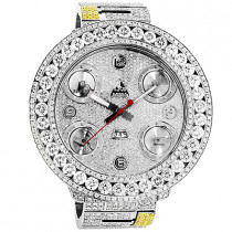 Jacob And Co Watches: Five Time Zone Mens Diamond Watch 34ct