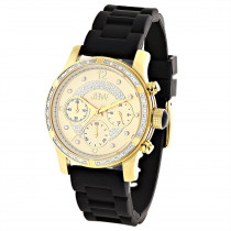 JBW Ladies Diamond Watch Yellow Gold Plated