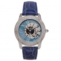 Joe Rodeo Beverly Ladies Diamond Watch 1.35ct Blue