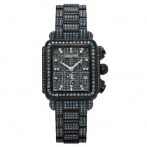 Joe Rodeo Blue Diamond Watch 13.5ct Madison