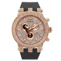 Joe Rodeo Broadway Rose Mens Diamond Watch 5ct