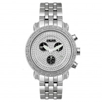 Joe Rodeo Diamond Bezel Jojo Watch 3.50ct Black Dials