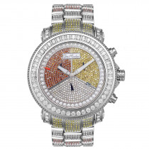 Joe Rodeo Diamond Iced Out Watch 17.25ct Super Junior