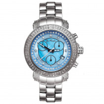 Joe Rodeo Diamond Watch for Women 1.25ct Rio Blue MOP