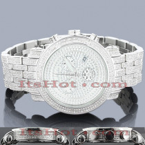 Joe Rodeo Diamond Watches: Mens Diamond Watch 5.50ct