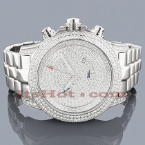 Joe Rodeo Diamond Watches Mens Master Pilot 11.75ct