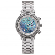 Joe Rodeo Master Diamond Womens Watch Blue MOP 0.90ct