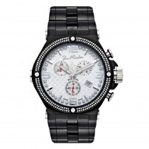 Joe Rodeo Mens Diamond Watch 2.25ct Phantom Black
