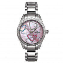 Joe Rodeo Secret Heart Ladies Diamond Watch 1.60ct
