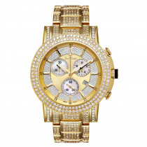 Joe Rodeo Trooper Mens Diamond Watch 14.50ct