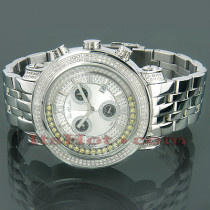 Joe Rodeo Tyler Floating Diamond Watch 1.90ct JoJo