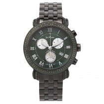Joe Rodeo Watches: Green Diamonds Watch for Men 3.50t Classic
