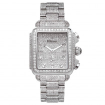 Joe Rodeo Watches Madison Fully Paved Diamond Watch 12c