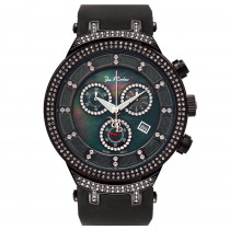 Joe Rodeo Watches: Mens Diamond Watch 2.20 Black Master