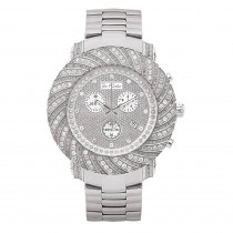 Joe Rodeo Watches: Mens Diamond Watch 4.25ct Junior