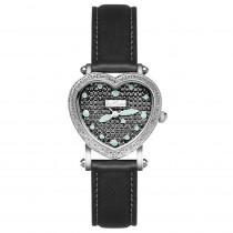 Joe Rodeo Womens Diamond Heart Watch 0.27ct Blue