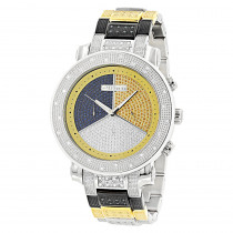 JoJino Mens Diamond Multicolor Watch 0.89ct