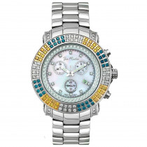 JoJo Joe Rodeo Blue Yellow Diamond Watch 4.30ct Junior