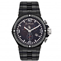 JoJo Joe Rodeo Phantom Mens Diamond Watch 2.25ct Black