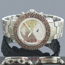 JoJo Watches Joe Rodeo Red Diamond Watch 22.50ct