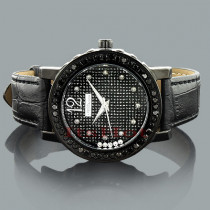 Ladies Black Diamond Watch by JoJino 2 carats