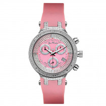 Ladies Diamond Joe Rodeo Watch Pink Master 0.90ct