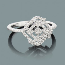 Ladies Gold Diamond Ring 0.30ct 14K Gold