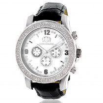 Luxurman Mens Diamond Watch 0.25ct