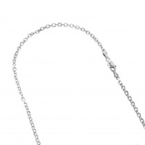 LUXURMAN Solid 14k Gold Cable Chain For Men & Women 3mm Wide
