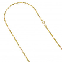 LUXURMAN Solid 14k Gold Mariner Chain For Men & Women 1.2mm Wide