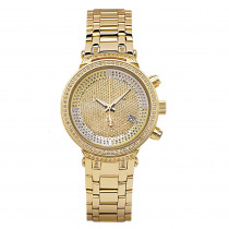 Master Ladies Diamond Watch 0.90ct Yellow