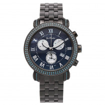 Mens Blue Diamond Watches: Joe Rodeo Classic Watch 3.5