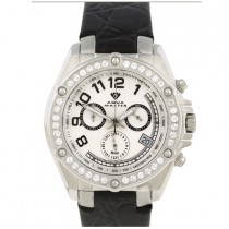 Mens Diamond Aqua Master Watch 1.70ct White