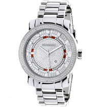 Mens Diamond Watch 0.12ct Luxurman