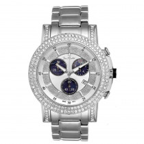 Mens Diamond Watch 6ct Joe Rodeo Trooper