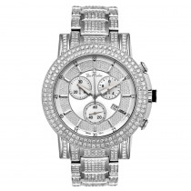 Mens Diamond Watch Joe Rodeo Trooper 14.5ct