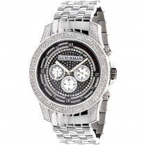 Mens Diamond Watch: Luxurman 0.50ct