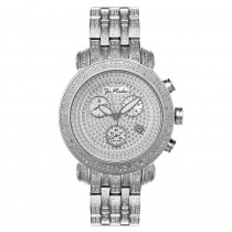 Mens Diamond Watch w Band 3.75ct Joe Rodeo Classic