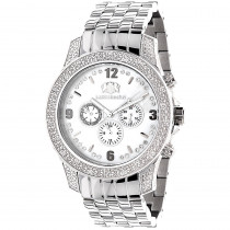 Mens Diamond Watches 0.50ct Luxurman Watch