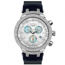 Mens Floating Diamond Watch 2.20ct Joe Rodeo Master