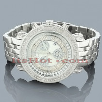 Mens JoJo Joe Rodeo Floating Diamond Watch 2.00ct