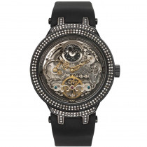 Mens Skeleton Watches: Joe Rodeo Master Diamond Watch 2.20ct