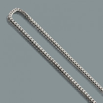 Mens Stainless Steel Chains: Franco Chain Necklace 4mm 30""