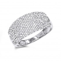 Pave Diamond Band 14K 0.65ct